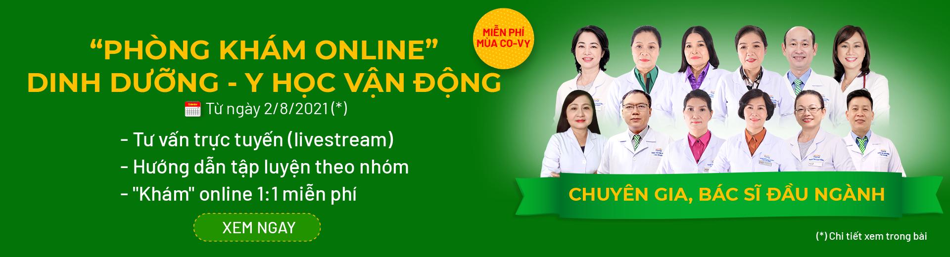 """Nutrihome ra mắt """"Phòng Khám Online"""