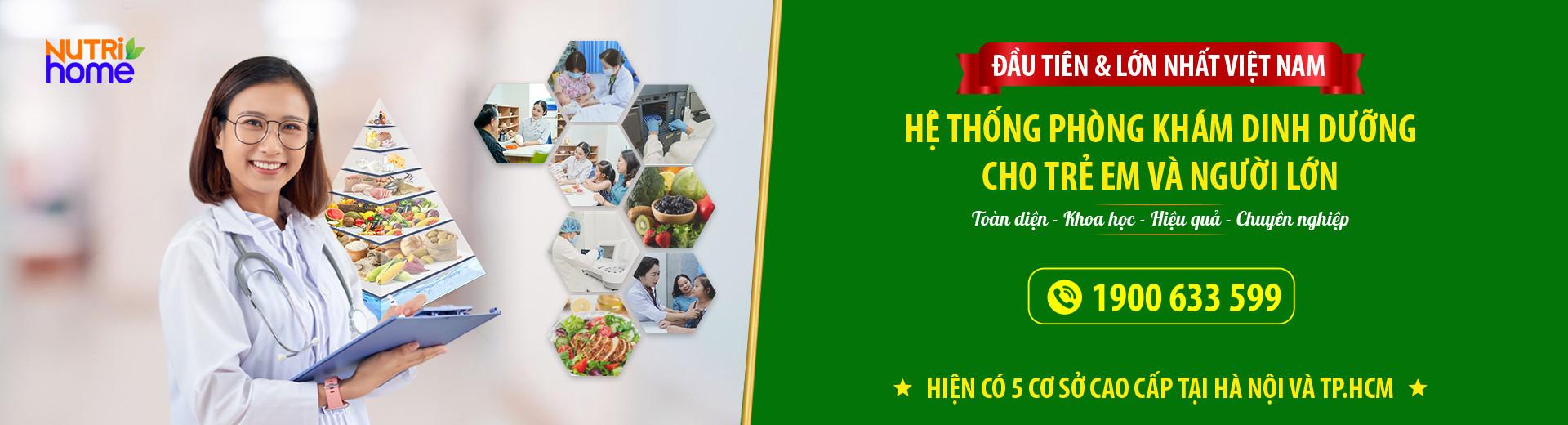 Giới thiệu Hệ thống Phòng khám Dinh dưỡng Nutrihome